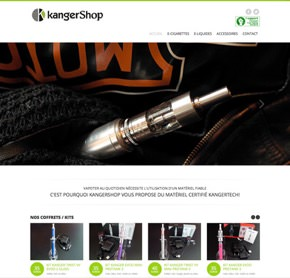 Site de la boutique kangershop